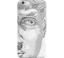 Head of David, (Michelangelo) iPhone Case/Skin