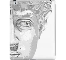 Head of David, (Michelangelo) iPad Case/Skin