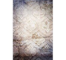 Gray Vintage Abstract Texture Photographic Print