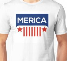 Jeep Wrangler- Merica Color Unisex T-Shirt