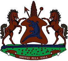 Coat of Arms of Lesotho Photographic Print
