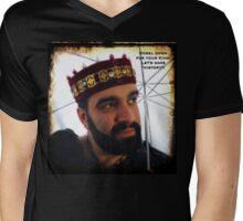 Kneel down for your King Mens V-Neck T-Shirt