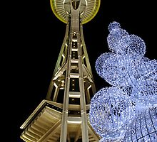 A Silent Night In Seattle. by Todd Rollins