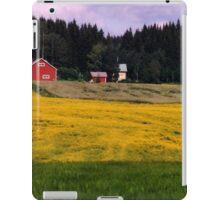 a historic Finland landscape iPad Case/Skin