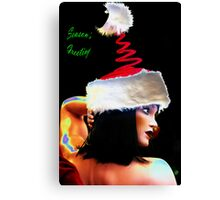 Season's Greetings. Canvas Print