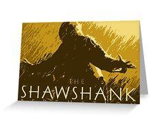 The Shawshank Redemption Greeting Card