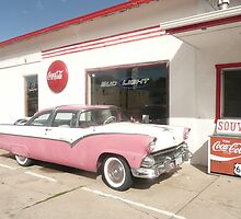 Ford Fairlane 1955 'The Crown Victoria'. by Mywildscapepics