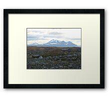 a stunning Finland landscape Framed Print