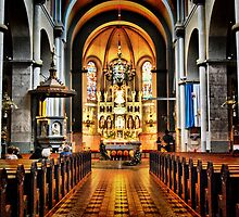 Franciscan Church by Klopocan