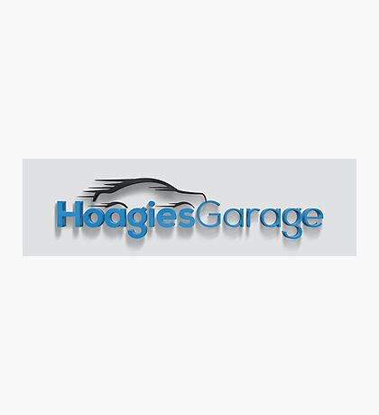 Hoagies Garage Logo Photographic Print