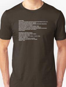 1210 specs T-Shirt