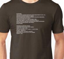 1210 specs Unisex T-Shirt