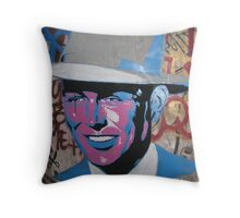 Looks Like Joseph Beuys to Me Throw Pillow