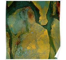 Rock Abstract Poster