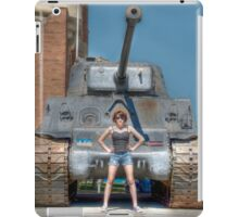 I Have a Tank.  Your Argument is Invalid iPad Case/Skin