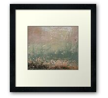 grunge background with space for text or image Framed Print