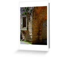 Arch & Stair Series - Erice archway  Greeting Card