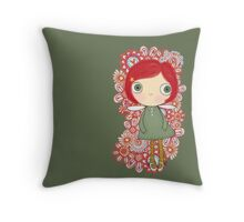 Fairy Cool Throw Pillow
