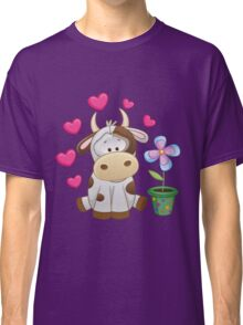 Little cow in love Classic T-Shirt