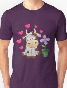 Little cow in love T-Shirt