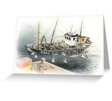 Bringing Home the Catch Greeting Card
