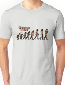 Evolution humor Unisex T-Shirt