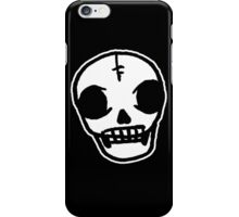 Sharpie Skull iPhone Case/Skin