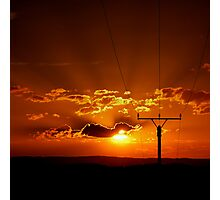 Electric Sun Photographic Print