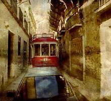 Streets Of Lisbon by Dariusz Gudowicz