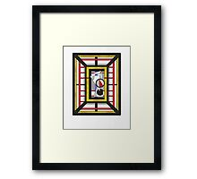 Geo 34 - Abstract Geomterical Compostion Framed Print