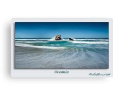 Oceania - signed Canvas Print