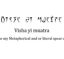 Visha Yi Muatra - Vivec would be proud by r4gn0r0kxxx