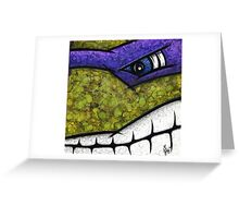Donatello of Teenage Mutant Ninja Turtles Greeting Card