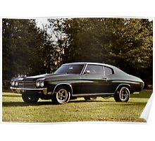 1970 Chevrolet Chevelle Poster