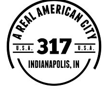 A Real American City Indianapolis IN by GiftIdea