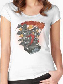 Doof Metal Women's Fitted Scoop T-Shirt