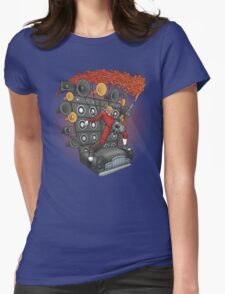 Doof Metal Womens Fitted T-Shirt