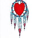 Heart Mandala by James Peele