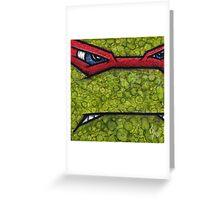 Raphael of Teenage Mutant Ninja Turtles Greeting Card