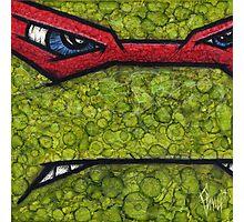 Raphael of Teenage Mutant Ninja Turtles Photographic Print