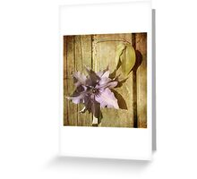 Parchment ... Greeting Card
