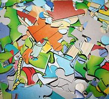 Jigsaw Puzzle Pieces  by Teuchter