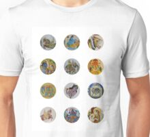 Indian murals Unisex T-Shirt