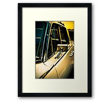 Side Framed Print