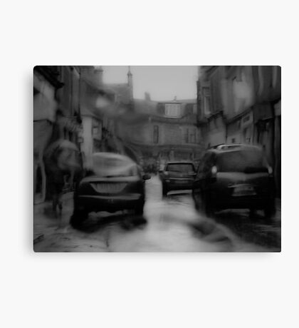 Scottish Rain Canvas Print
