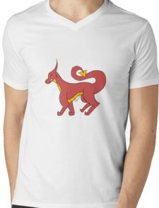 Just Your Typical Dragon Mens V-Neck T-Shirt