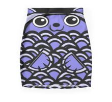 Cuddly Blue Bear Mini Skirt