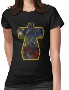 A galaxy of music Womens Fitted T-Shirt