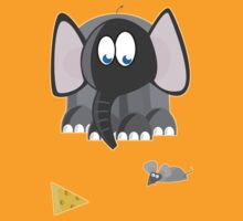 The Elephant, The Mouse, and the Cheese by Pamela Maxwell