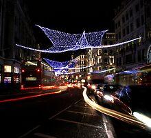 Oxford Street Christmas Lights by Katja Fønss